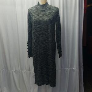 SOLUTIONS midi knit dress